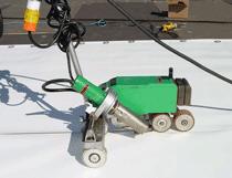 Soudure à l'air chaud avec robot Varimat